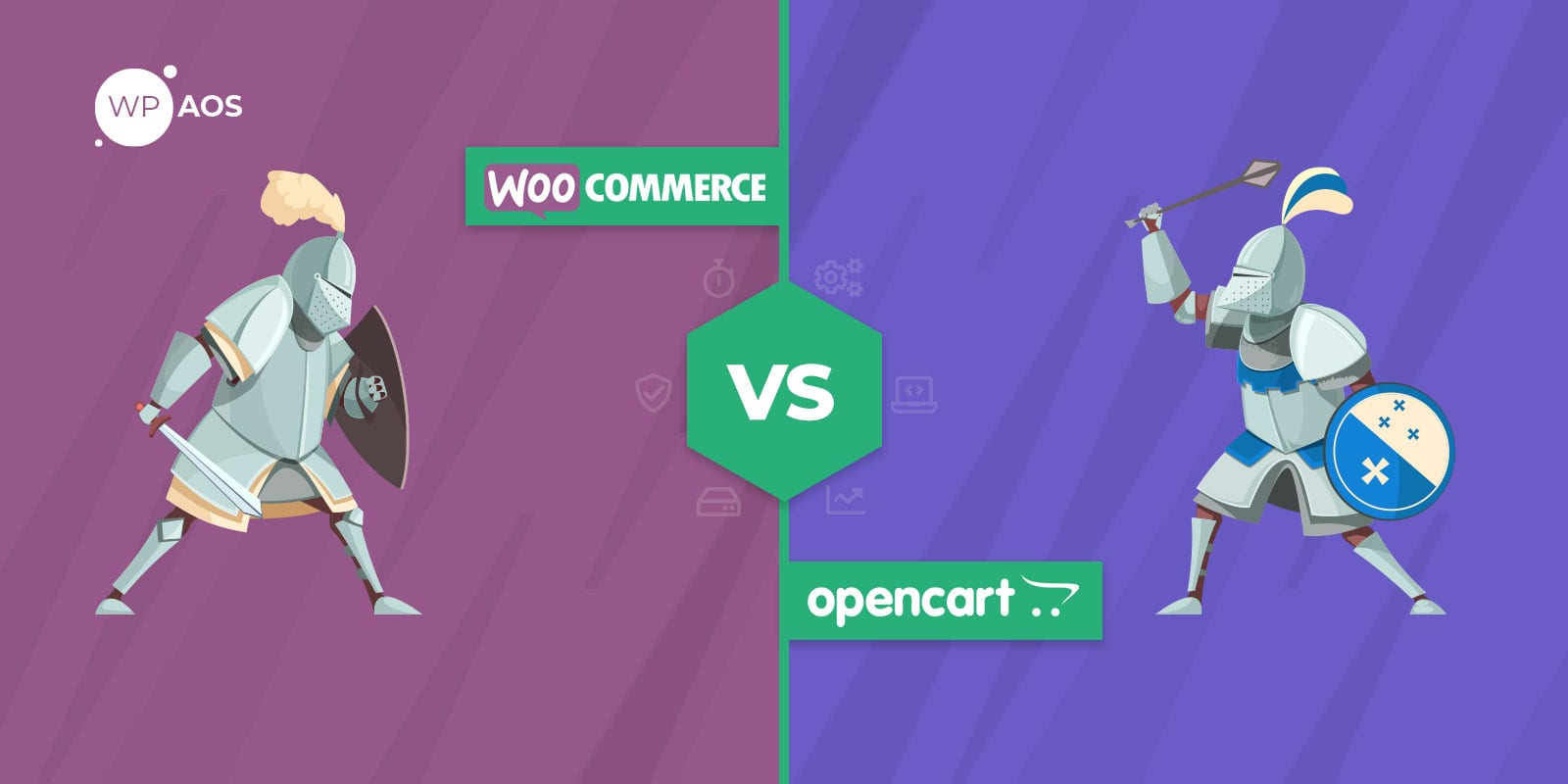 WooCommerce vs Opencart, Online Shop CMS, Create eCommerce, wpaos