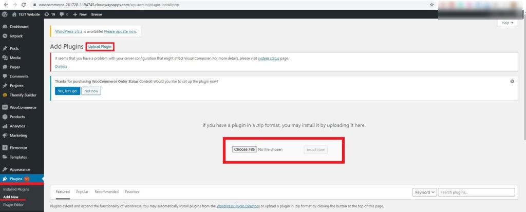 Authorize.net for WooCommerce plugin