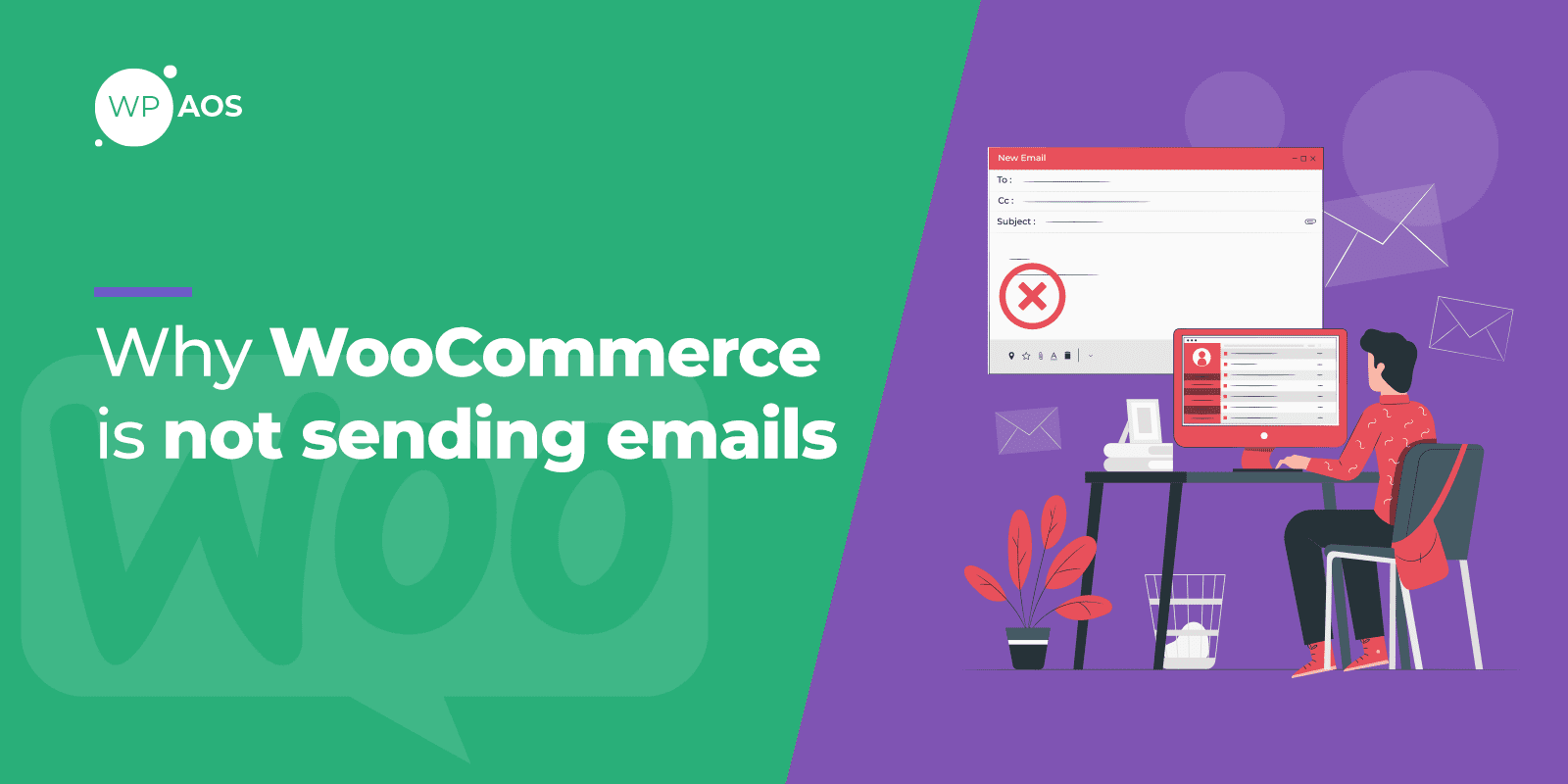 woocommerce-not-sending-emails