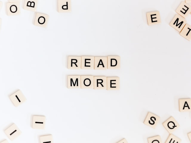 "Scrabble tiles that spell out ""read more"", Best Practices for Internal Linking in WordPress"