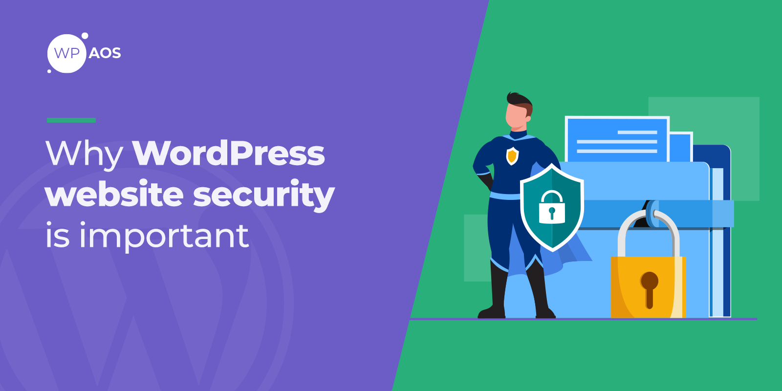 why-wordpress-website-security-is-important