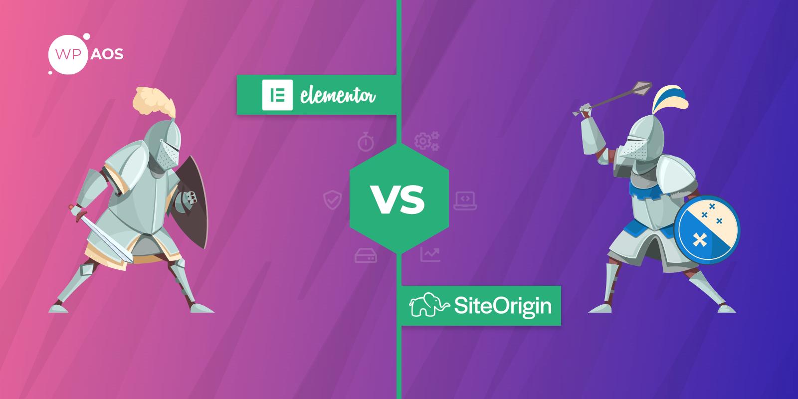 Elementor-VS-SiteOrigin